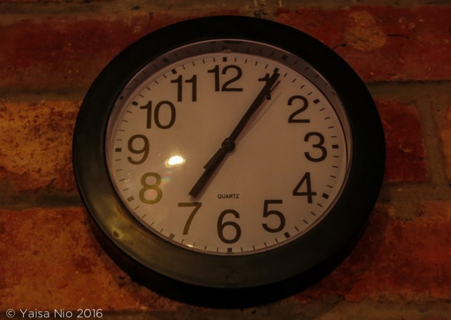 Clock 7.05 am Ashtanga Yoga Practice